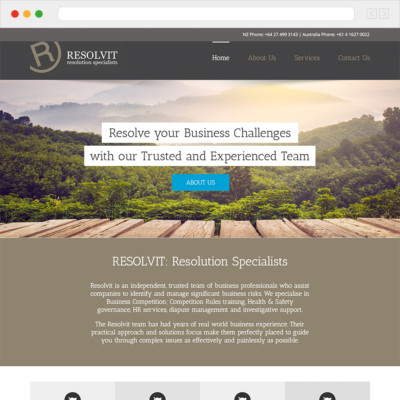 Resolvit Website
