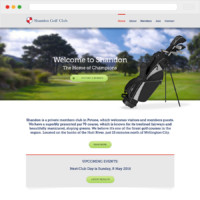Shannon Golf Club Website