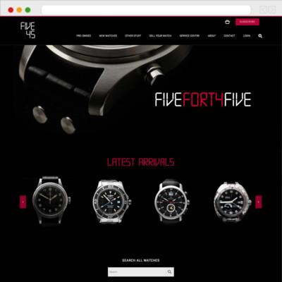 Five Forty Five Website